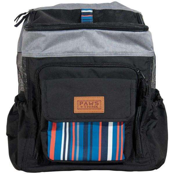 FOFOS SOS Save our seas Backpack Hunderucksack schwarz/grau