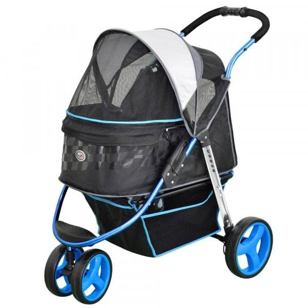 InnoPet® Urban Hundewagen für kleine Hunde blau