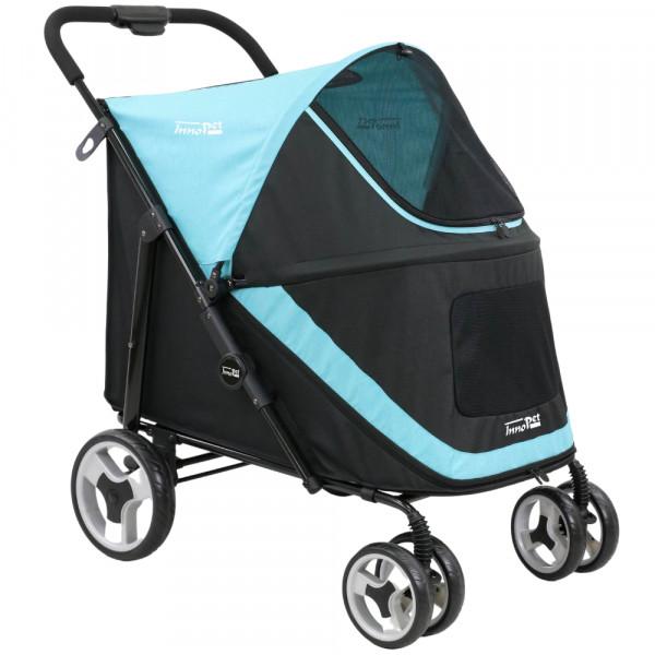 InnoPet® Mammut Hundewagen für große Hunde blau/schwarz