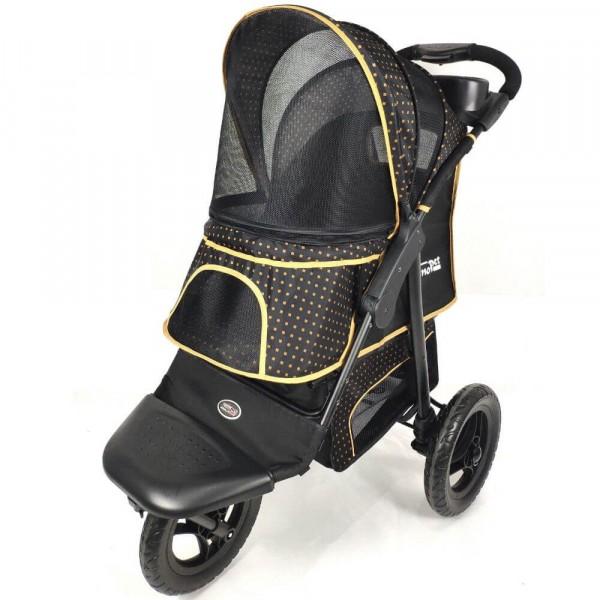 InnoPet® Adventure Hundebuggy schwarz/gold